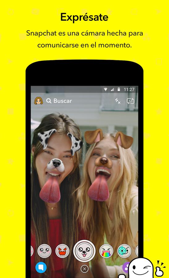 snapchat app mas descargada 2017.png