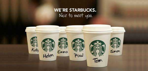 starbucks one to one mkt